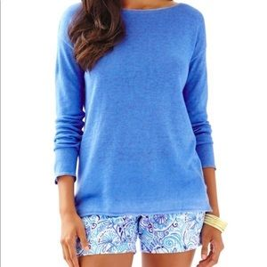 Lilly Pulitzer | Alana Linen Boatneck Sweater
